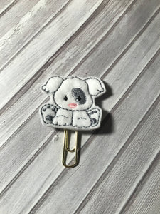 Cute Dog Paper Clip