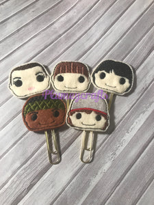 Stranger Things Paper Clip