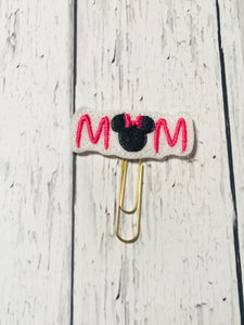 Mouse Mom Paper Clip