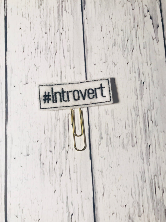 Introvert Paper Clip