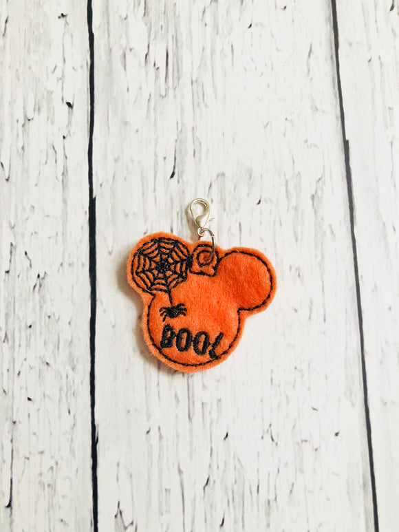 Boo Mouse Head Charm