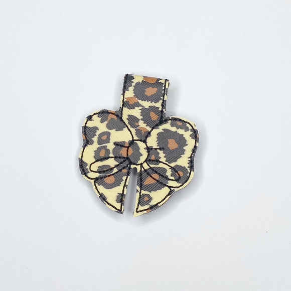 Leopard Magnetic Bow Bookmark