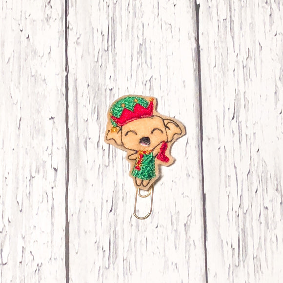Christmas House Elf Paper Clip