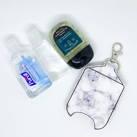 Marble Hand Sanitizer Holder