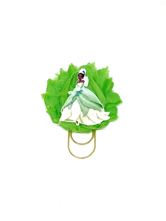 Frog Princess Flower Wide Paper Clip