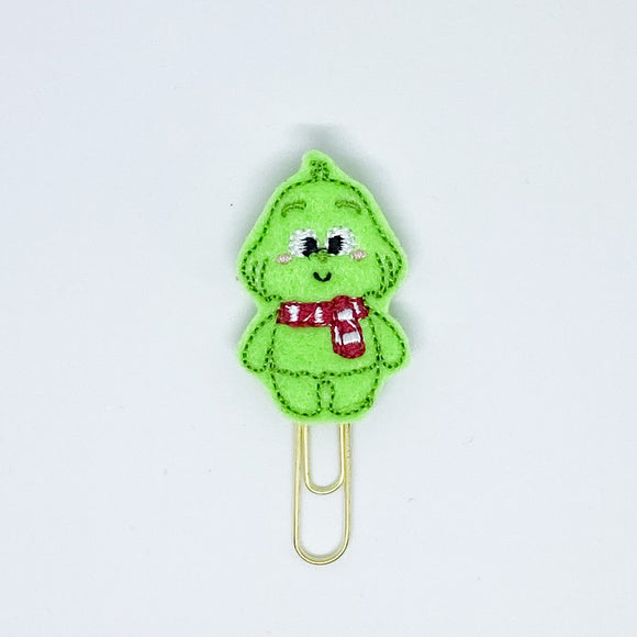 Grinch Paper Clip
