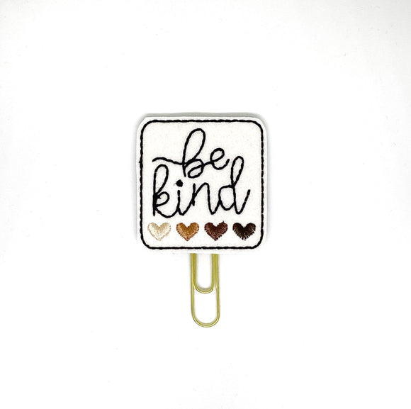 Be Kind Paper Clip