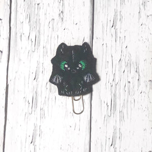 Black Dragon Paper Clip