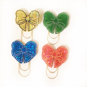 House Color Bow Paper Clip
