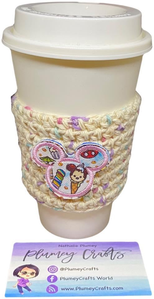 Sprinkle Mouse Cup Cozy
