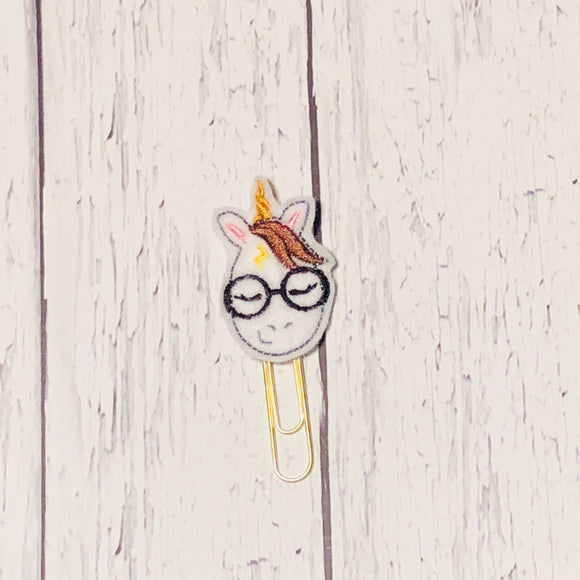 Unicorn Wizard Paper Clip