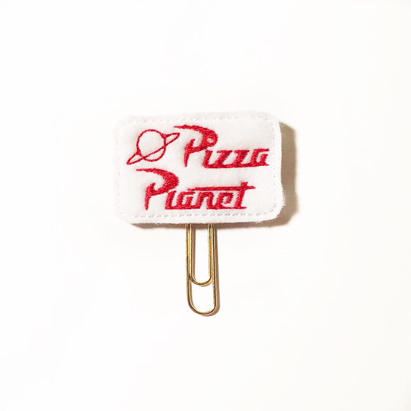 Pizza Planet paper clip
