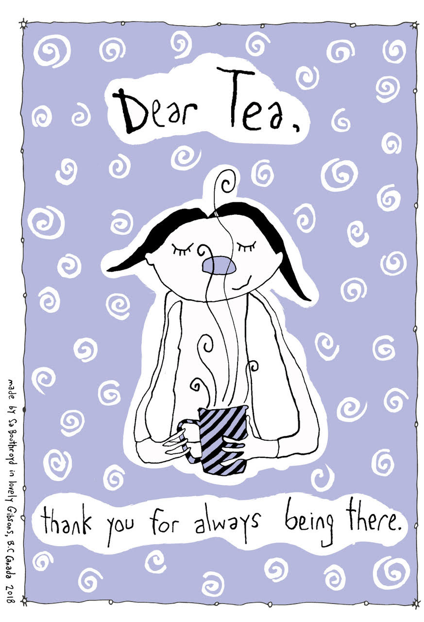 Cotton Tea Towel - Dear Tea