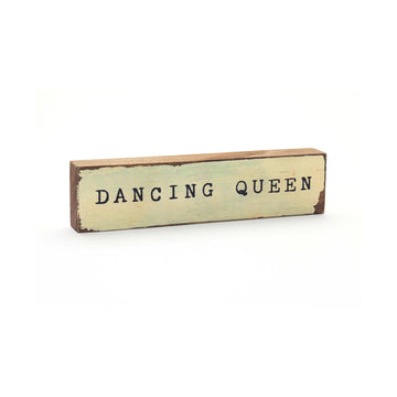 wood art block dancing queen cedar mountain studios