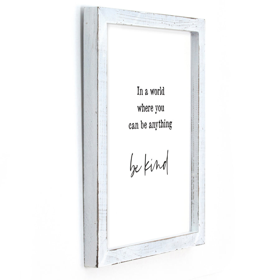 Framed Sign - Home Decor - Inspirational Quotes