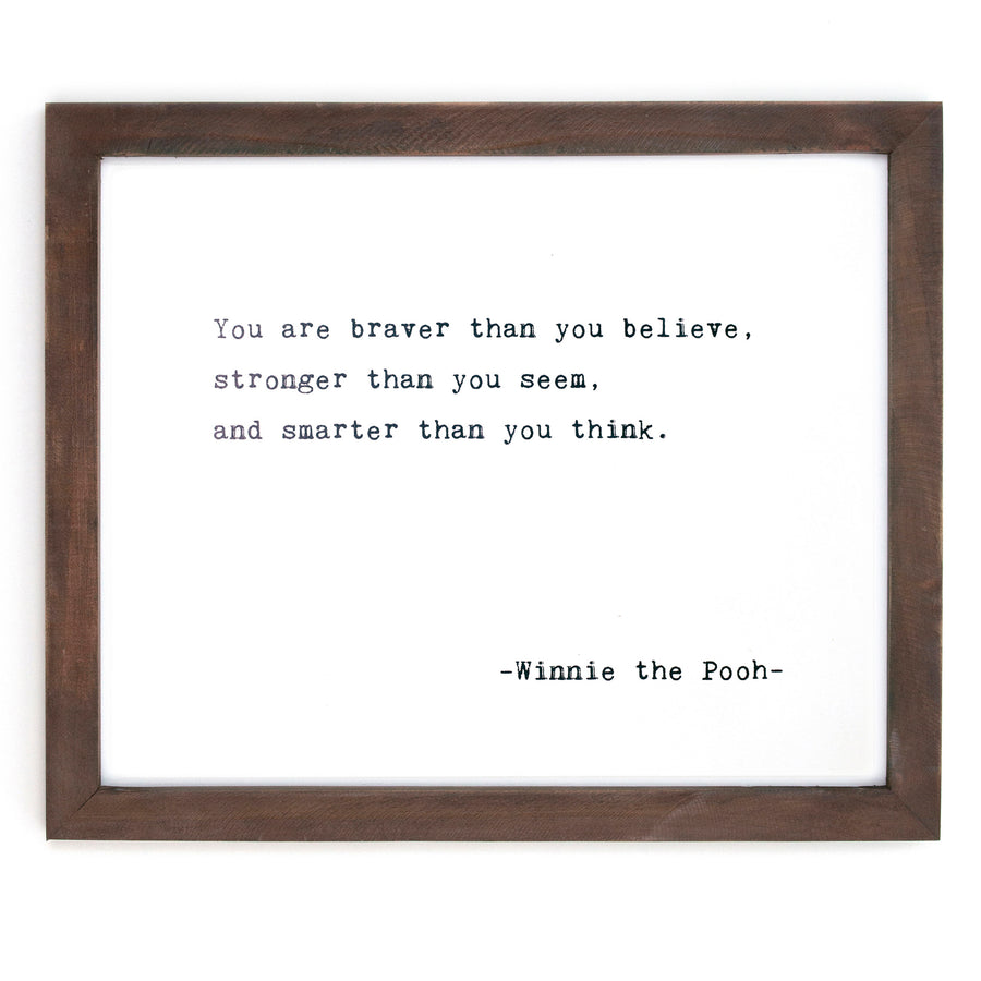Framed Wall Art - Home Decor - Inspirational Quotes