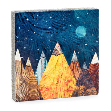 Lost+Found Art Block - Burl Mountains