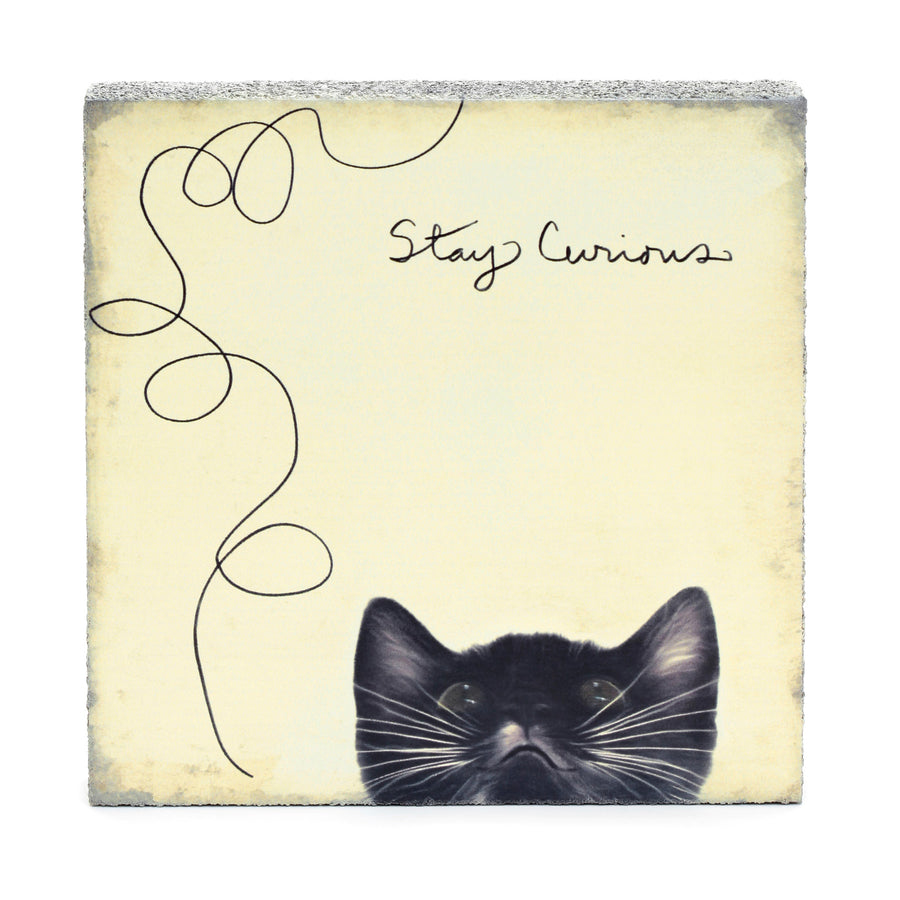 Lost + Found Art Block - Stay Curious
