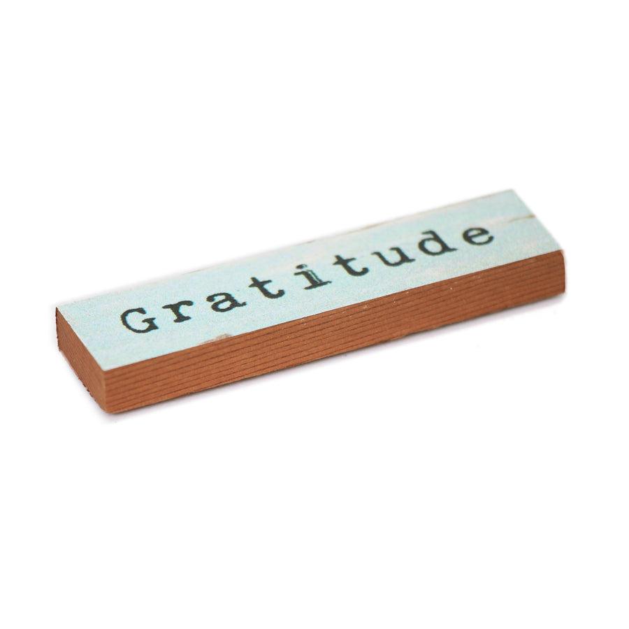Wood Refrigerator Magnet - Handmade In Canada With Cedarwood
