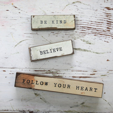 Triple Pack - Be Kind, Believe, Follow Heart