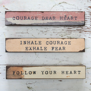 Triple Pack - Courage, Exhale, Heart