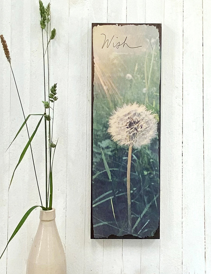 Dandelion - Timber Wall Art