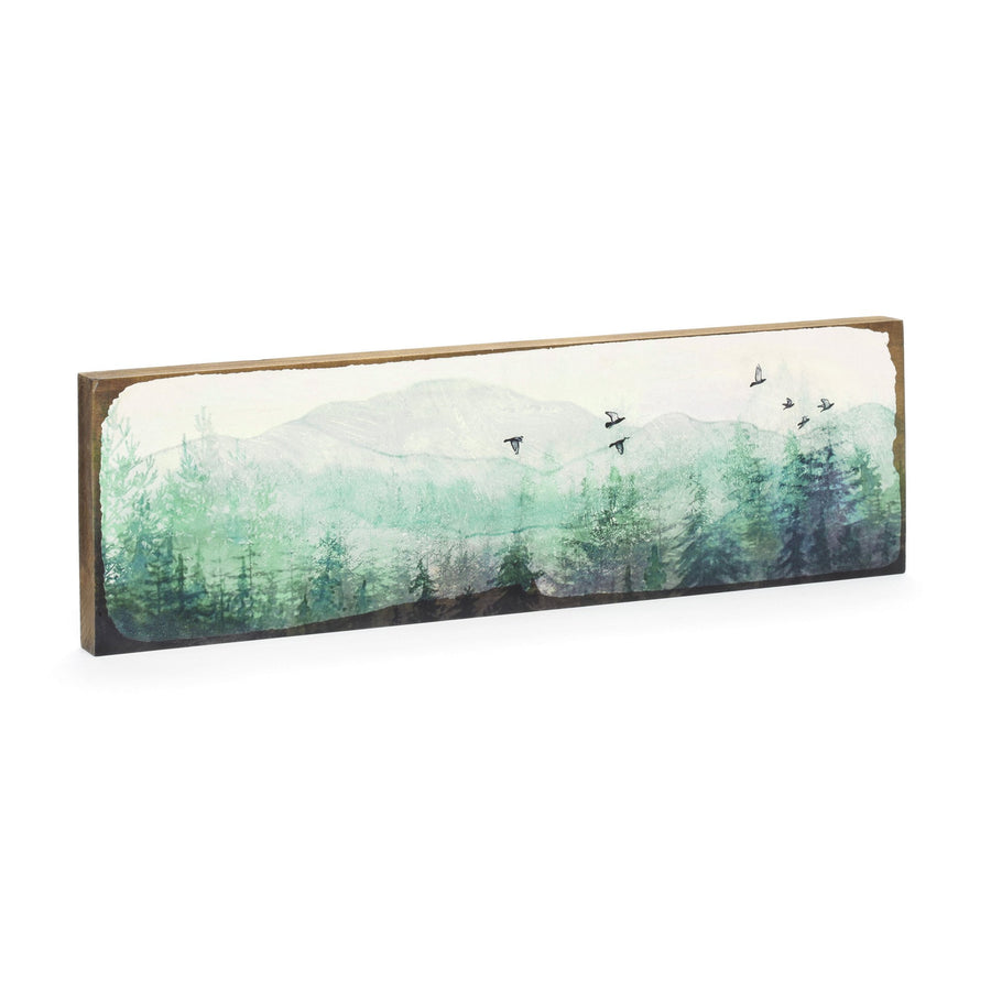 Timber Wall Art - Forest Birds