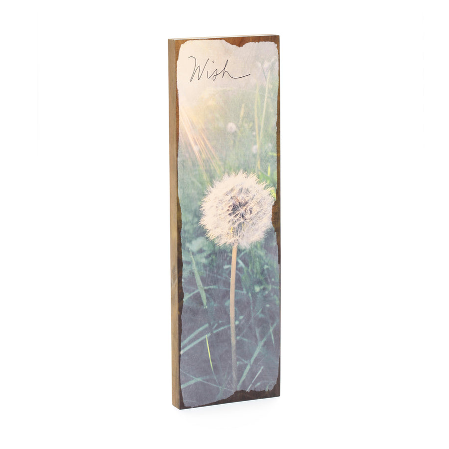 Timber Wall Art - Dandelion