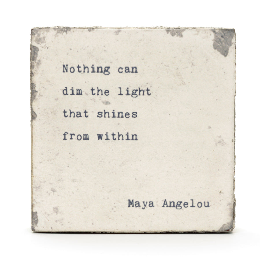art block maya angelou nothing can dim