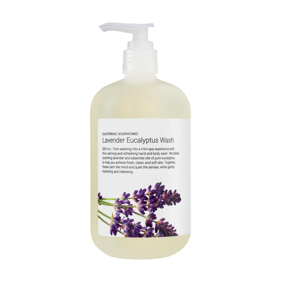 liquid hand soap - bath and body - all natural - lavender eucalyptus