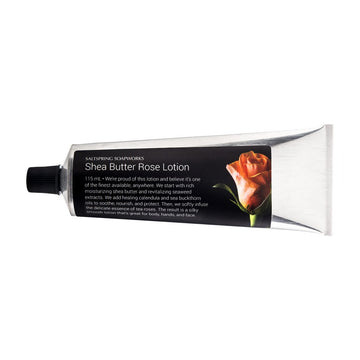 Hand and Body Lotion - Rose Shea - All Natural -Saltspring Soapworks