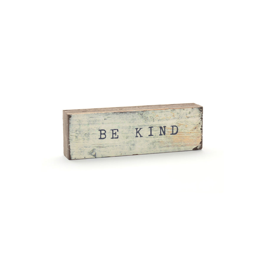 wood art block be kind cedar mountain studios