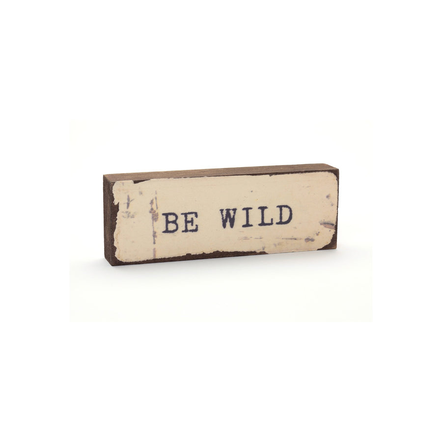 wood art block cedar be wild mountain studios