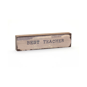 wood art block best teacher cedar mountain studios
