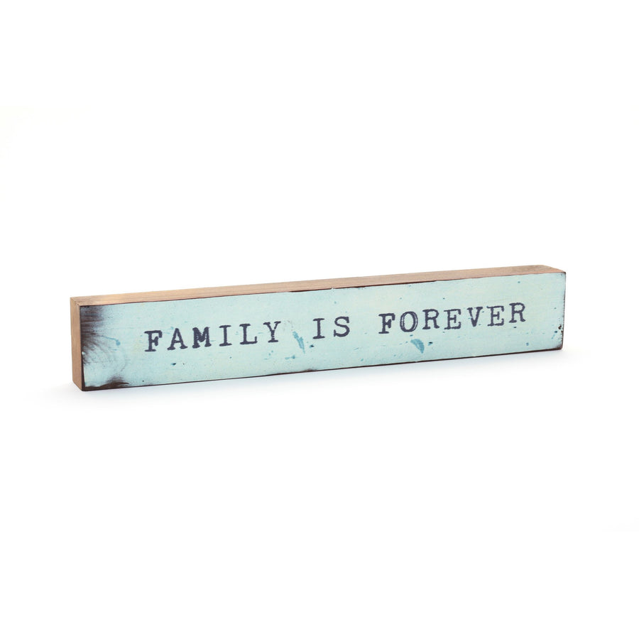 wood art block family is forever cedar mountain studios