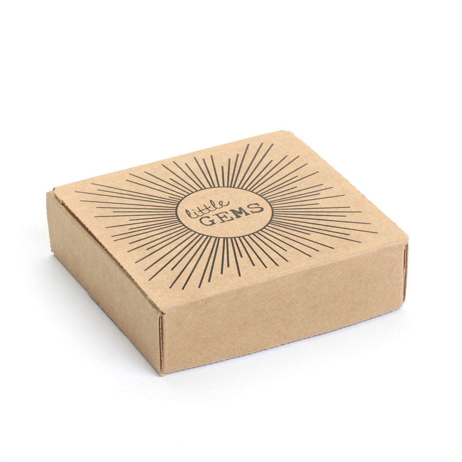 wood art block gift box