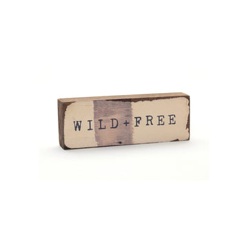 wood art block wild + free cedar mountain studios