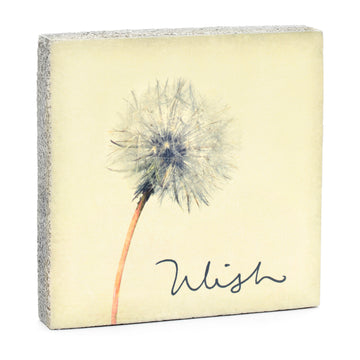 wood art block wish