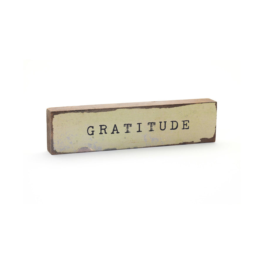 wood art block gratitude cedar mountain studios
