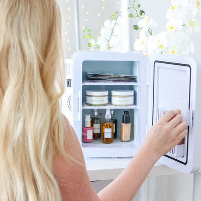 Meet The Crazy Cool Mini Fridge For Your Skincare