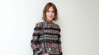 Alexa Chung for August