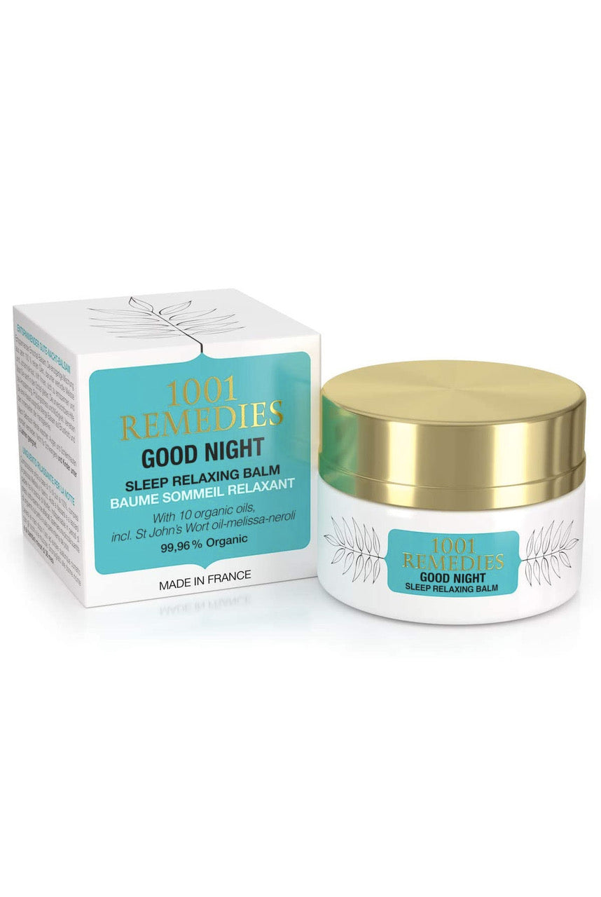 1001 Remedies Sleep Aid Balm with Lavender for Stress Relief - Good Night