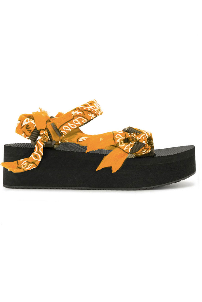 Arizona Love Trekky Orange Platform - EU41 Orange
