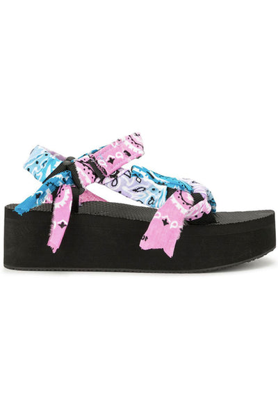 Arizona Love Trekky Platform Tiedye