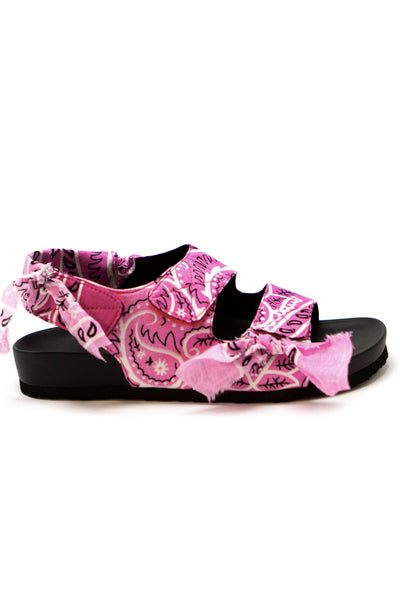 Arizona Love Apache Pink Bandana Sandals
