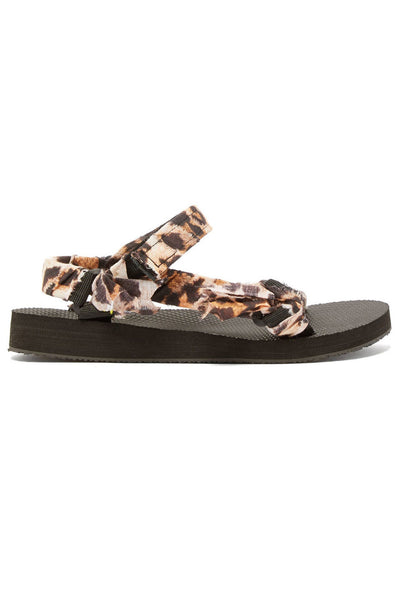 Trekky Sandal Leopard Print by Arizona Love
