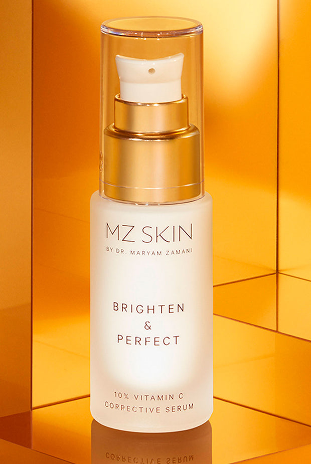 BRIGHTEN & PERFECT 10% Vitamin C Corrective Serum by MZ Skin