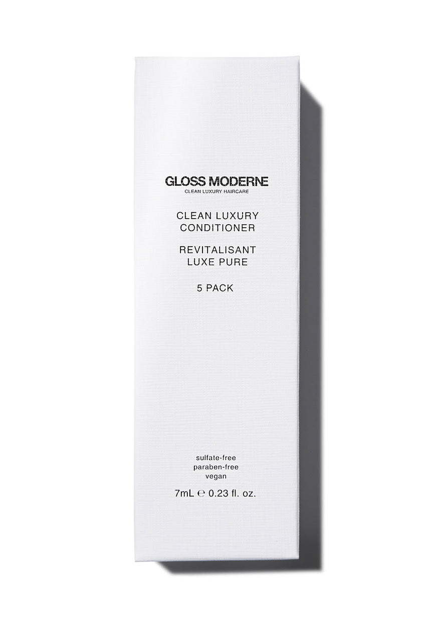 Gloss Moderne Clean Luxury Travel Conditioner (5-pack)