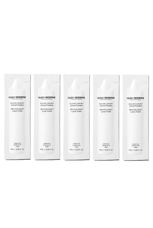Clean Luxury Travel Conditioner (5-pack) by Gloss Moderne