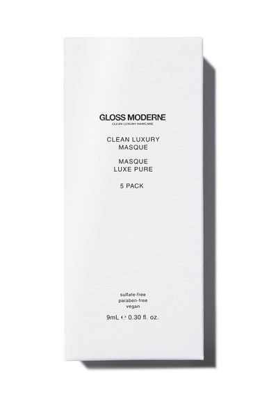Clean Luxury Travel Masque (5-Pack) by Gloss Moderne